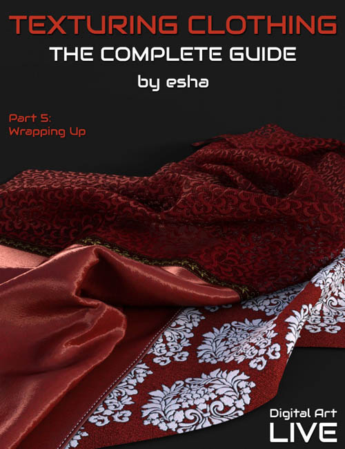 The Complete Guide to Texturing Clothing - Part 5