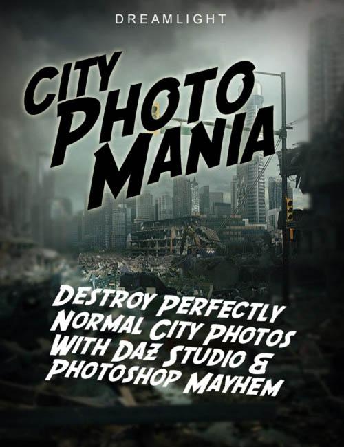 City Photo Mania - Destroy Photos With DAZ Studio