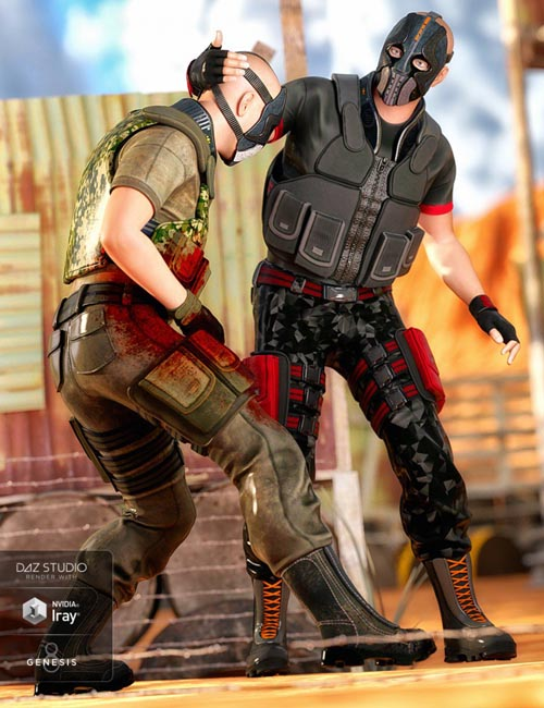 Renegade Soldier Outfit Textures