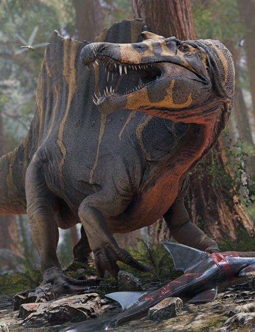 HH Spinosaurus and Prey