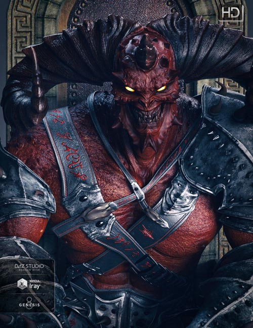Behemoth HD for Genesis 8 Male