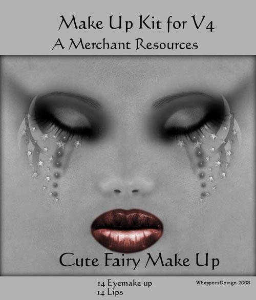 GM Cute Fairy make up for V4