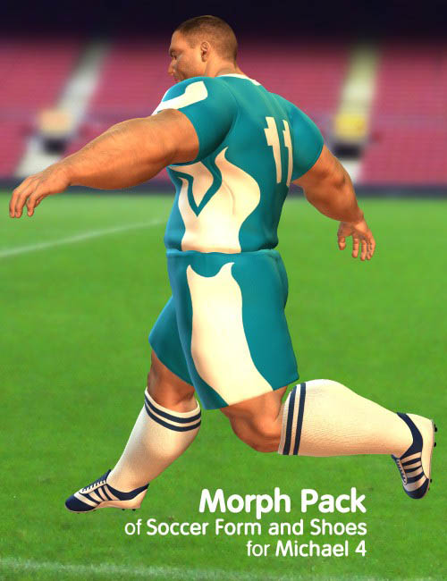 Morph Pack of Soccer Form and Shoes for Michael 4