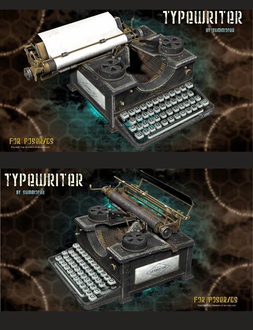 Summoner's Typewriter