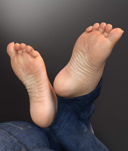 Wrinkled Soles for Genesis 3 and 8