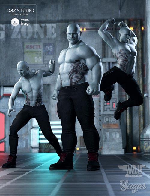 Demolisher Pose Set for Genesis 8 Male(s)