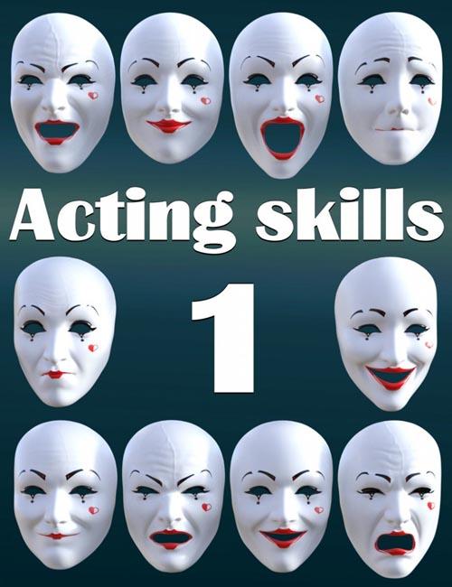Acting skills 1 for Genesis 8 Female(s)