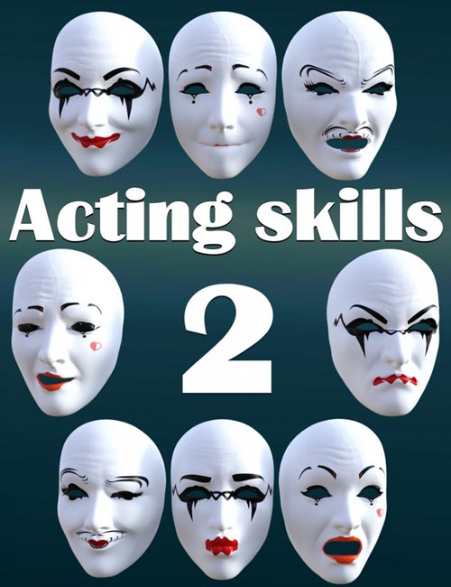 Acting skills 2 for Genesis 8 Female(s)