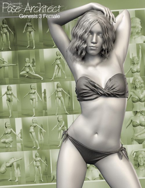 Pose Architect for Genesis 3 Female(s)