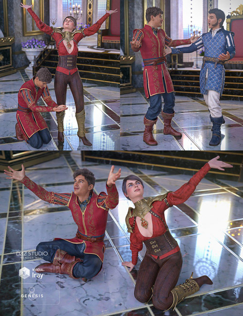 Gratitude and Homage Poses for Genesis 8