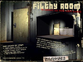 RobotMonster's Filthy Room
