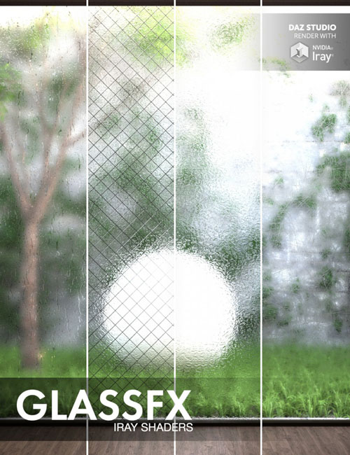 GlassFX - Iray Shaders