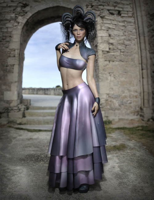dForce Minute 2 Midnight Outfit for Genesis 8 Female(s)
