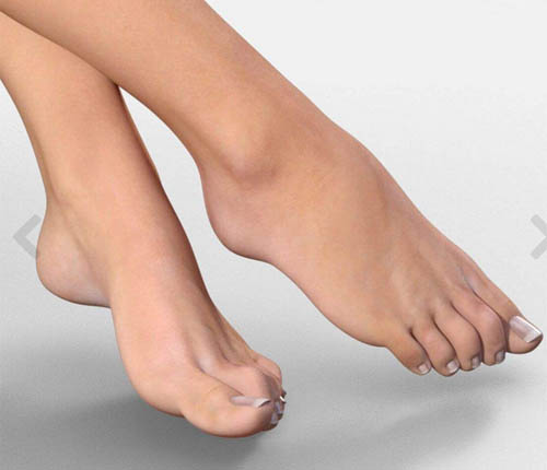 Real Feet for Genesis 3 Female