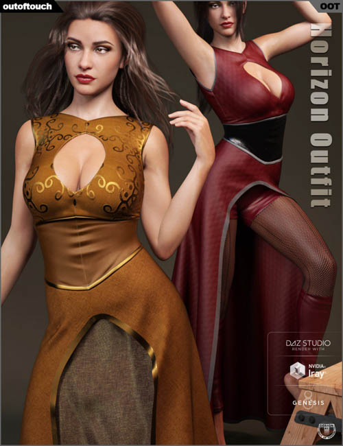 dForce Horizon Outfit for Genesis 8 Female(s)