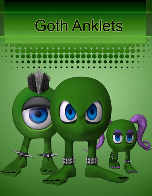 Goth Anklets for Rounds
