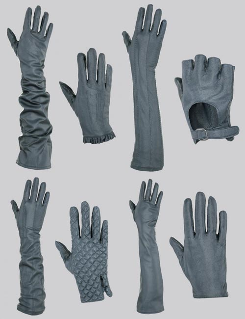 Glove-a-Licious for Genesis 8 Female(s) and FBX