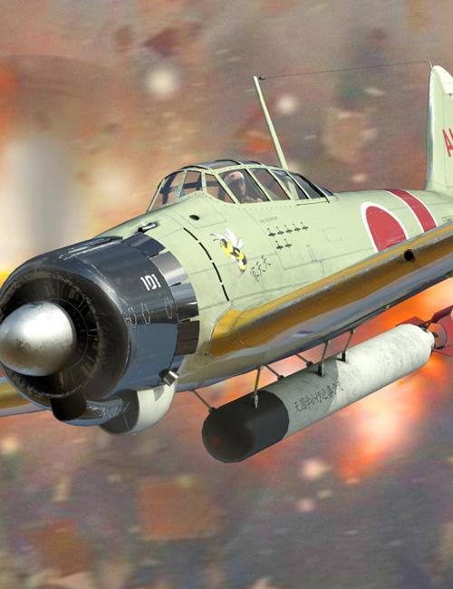 Zeke Military Aircraft