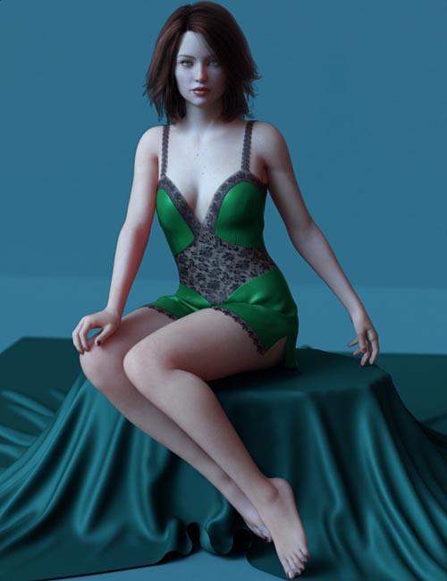 dForce Lace Teddy for Genesis 8 Female(s)