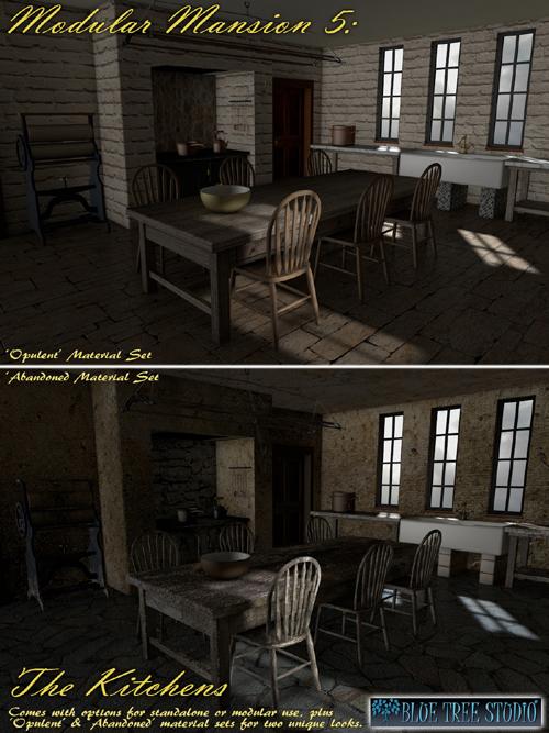 Modular Mansion 5 The Kitchens