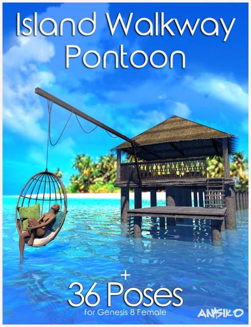 Island Walkway Pontoon and Poses