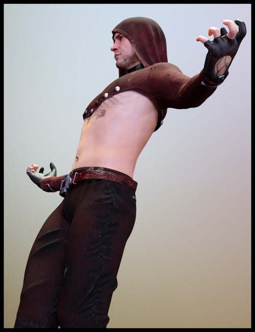 Addon for GothicX Rock for Genesis 8 Male(s)