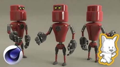 Skillshare - 3D Character Creation in Cinema 4D: Modeling a 3D Robot