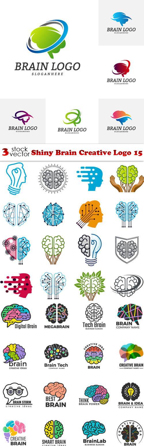 Shiny Brain Creative Logo 15
