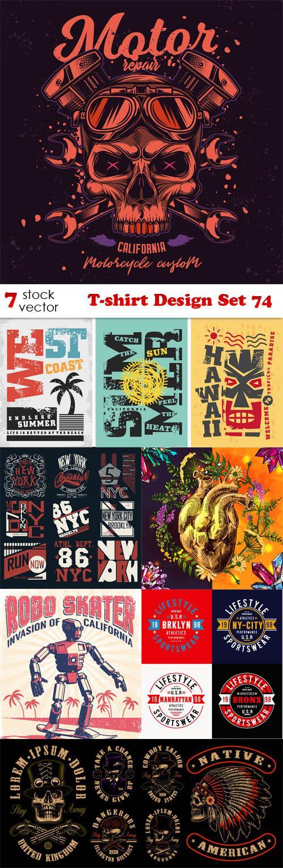 T-shirt Design Set 74
