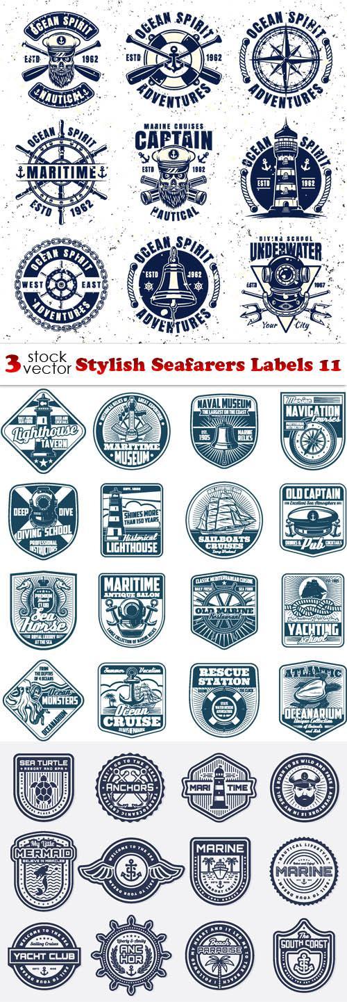 Stylish Seafarers Labels 11