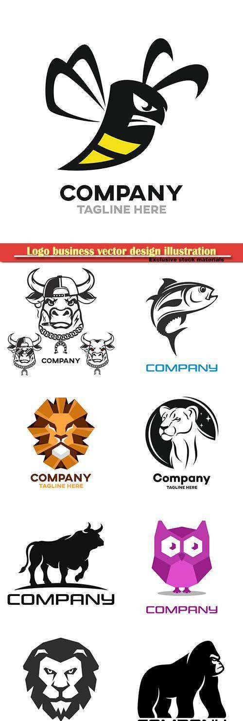 Logo business vector design illustration # 107
