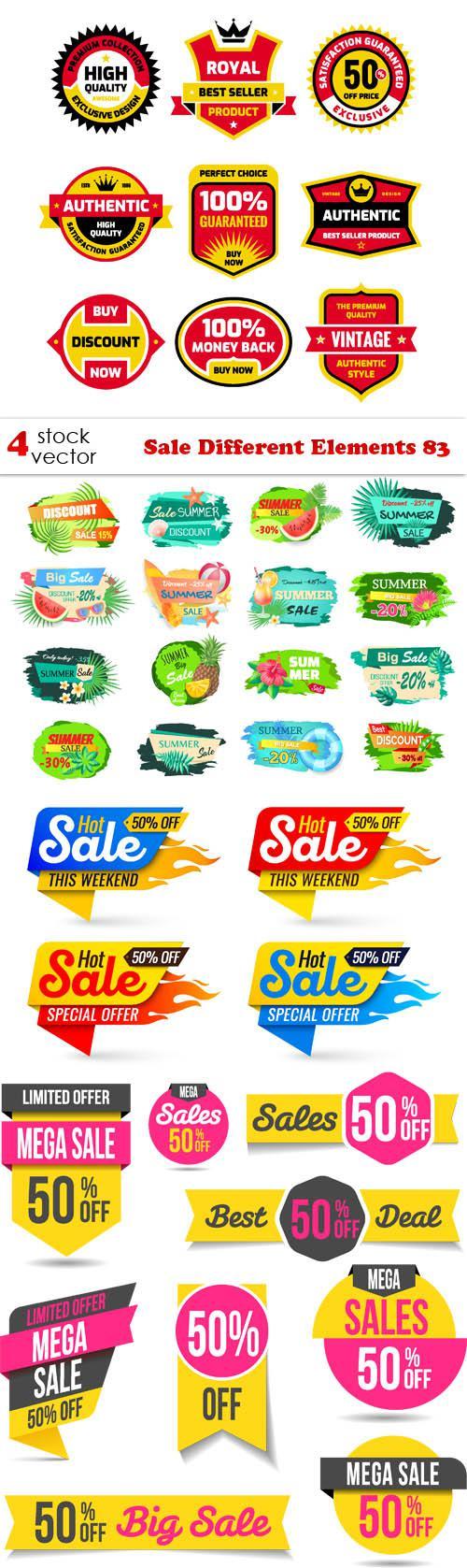 Sale Different Elements 83