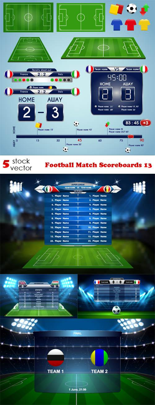 Football Match Scoreboards 13