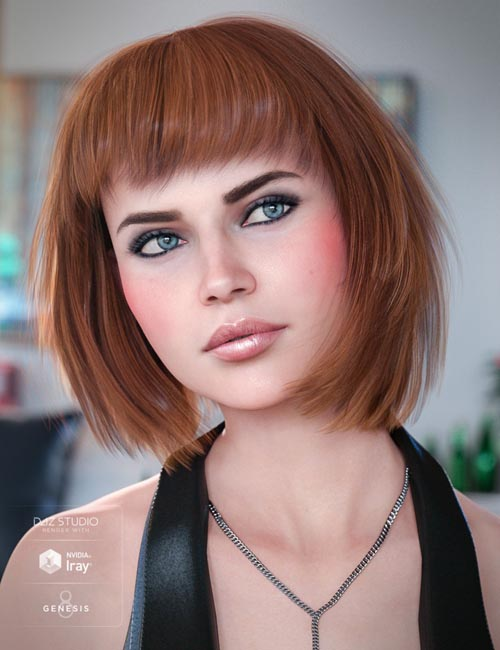 Coco Hair for Genesis 8 Female(s)