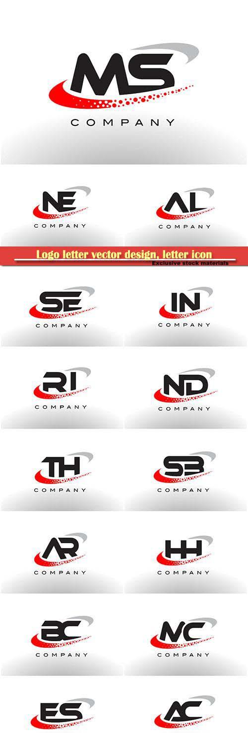 Logo letter vector design, letter icon # 12