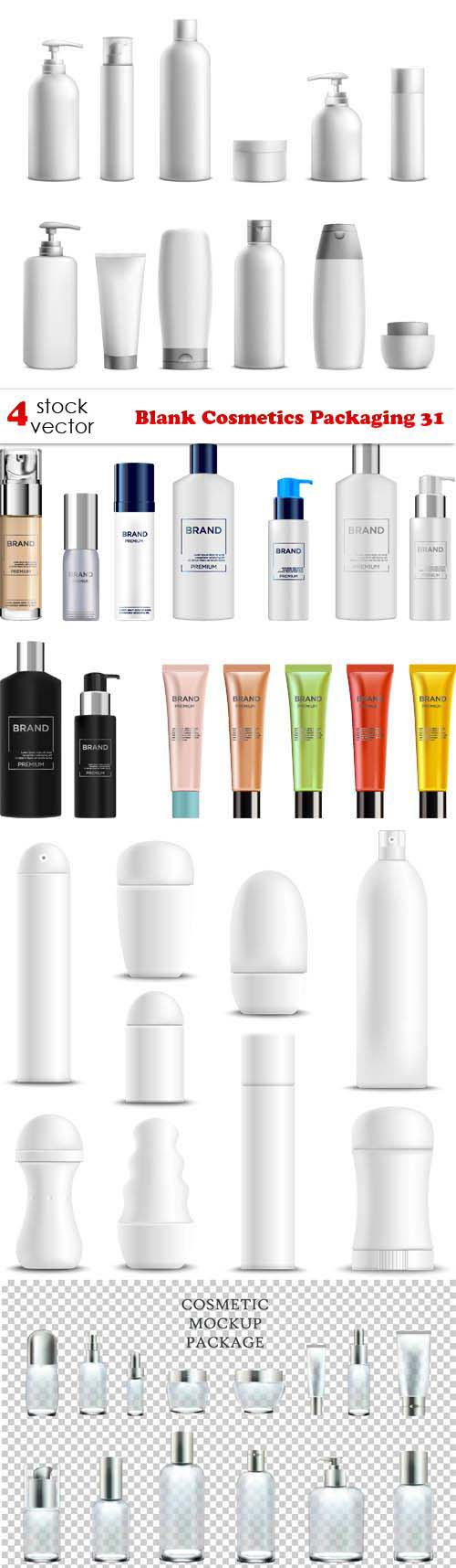 Blank Cosmetics Packaging 31