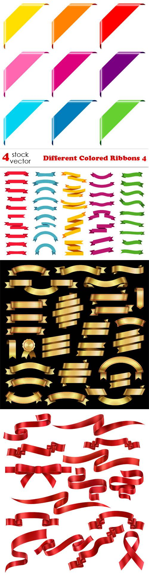 Different Colored Ribbons 4