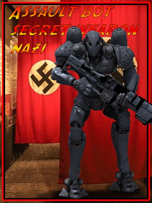 German Combat Bot dieselpunk