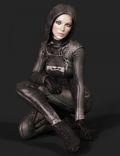X-Fashion dForce Police Outfit for Genesis 8 Female(s)