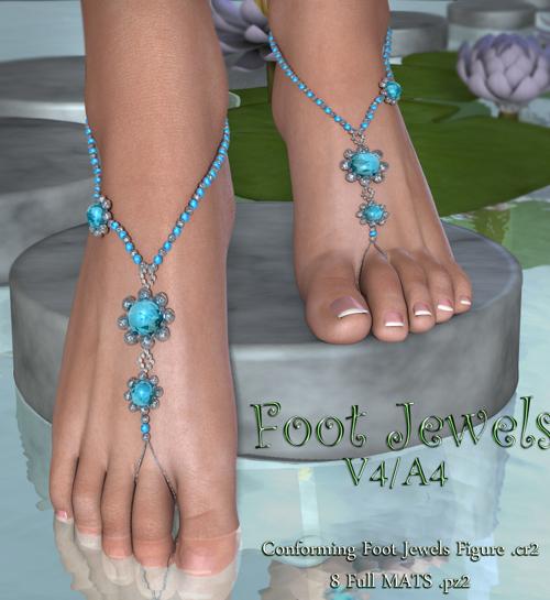 Foot Jewels V4-A4