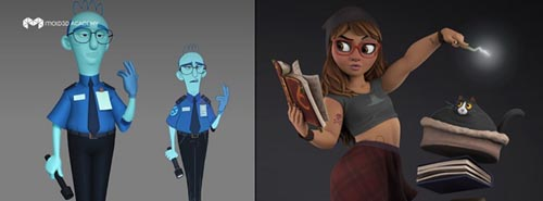 Mold3D Academy - Creating Appealing Characters in 3D