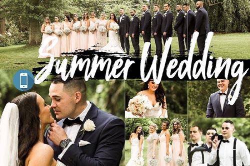 Neo Summer Wedding Theme mobile lightroom presets engagement - 267829