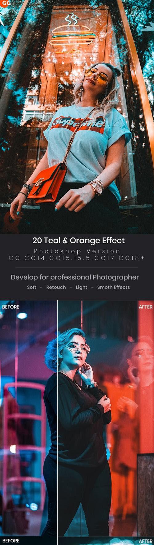 20 Teal & Orange Effect 23896458
