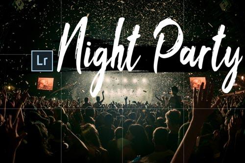 Neo Night Party Theme Desktop Lightroom Presets - 265964
