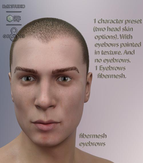 Jhonnatan for Genesis 8 Male
