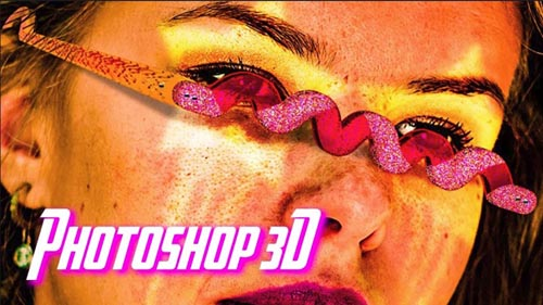 Skillshare - Learn Photoshop 3D and Create Unimaginable Graphics