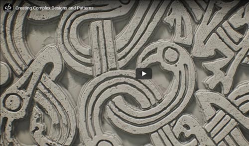 The Gnomon Workshop - Creating Complex Dersigns and Patterns Substance Designer and Zbrush
