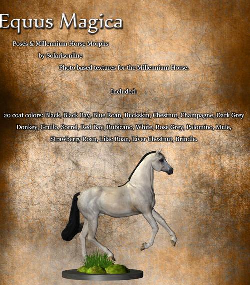 Equus Magica For the Millennium Horse