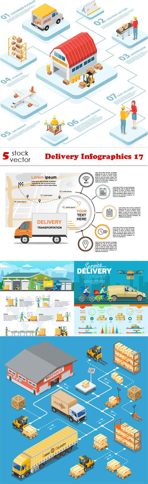 Delivery Infographics 17
