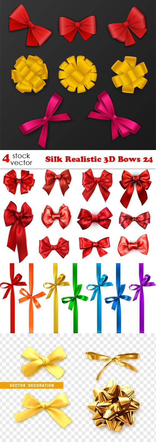 Silk Realistic 3D Bows 24